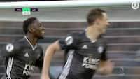 Evans-perle sender Leicester på sejrskurs – Se den flotte scoring her
