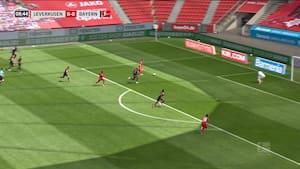 Lucas Alario ryster Bayern med tidlig scoring - Se målet her