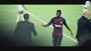 Ousmane Dembele roser både Griezmann og Messi før storkamp