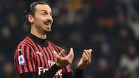 AC Milan forlænger med Zlatan Ibrahimovic