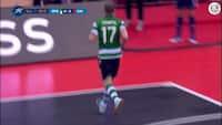 Sporting vinder Futsal-udgaven af Champions League - se alle tre mål fra finalen mod Kairat Almaty her