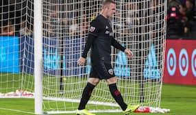 Wayne Rooney får igen rødt kort i USA