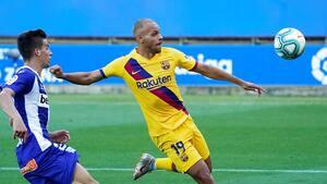 Avis: Barcelona forhandler med PL-klubber om Braithwaite