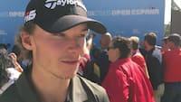 Højgaard efter første dag i Spanien: Det var tricky