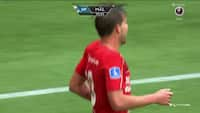 KÆMPE nedtur for Lyngby - Vallys bringer Silkeborg på 2-0