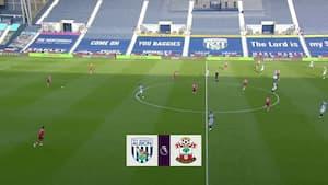 Vestergaard og Southampton sat på plads - se highlights fra West Broms 3-0-sejr