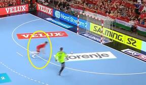 Veszprem sendte Flensburg-Handewitt ud af Champions League - nyd dette supermål