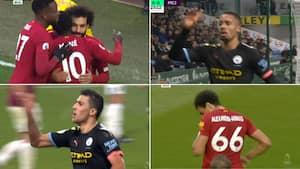 Klassemål på klassemål: Se alle sæsonens bedste Man City- og Liverpool-mål her