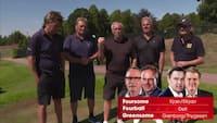 De store egoers golfdyst: Da Elkjær og Kjær dystede mod Grønborg og Thygesen