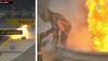 Raceren eksploderer: Romain Grosjean flygter fra flammehav efter UHYGGELIG ulykke