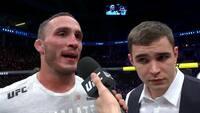 Rørende hilsen: UFC-kæmper dedikerer sejr til kræftsyg mor