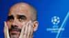 Odds styrtdykker: Pep Guardiola har den ene fod udenfor døren