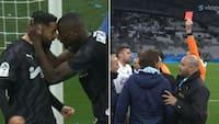 Total nedsmeltning: Marseille smider sejr væk i overtiden - så ser Villas-Boas rødt