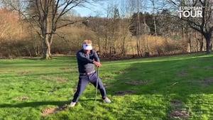 HAHA! Kjeldsen tager pis på golfstjerner - se den sjove video lige her