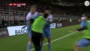Lazio napper finaleplads for næsen af Milan