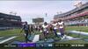 Ravens tager føringen: Dobbins presser sig igennem til touchdown