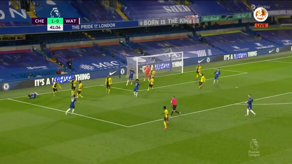 Willian sikker fra straffesparkspletten - Chelsea foran med 2-0