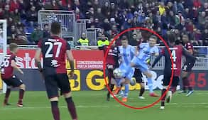 WOW! Lazio-stjerne udligner i 95. minut på vanvittig detalje - Zlatan havde været stolt