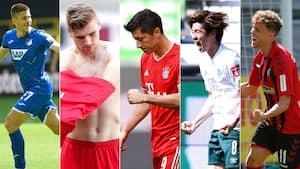 Bundesligaen lukket med manér: Se alle 34 mål fra sidste runde