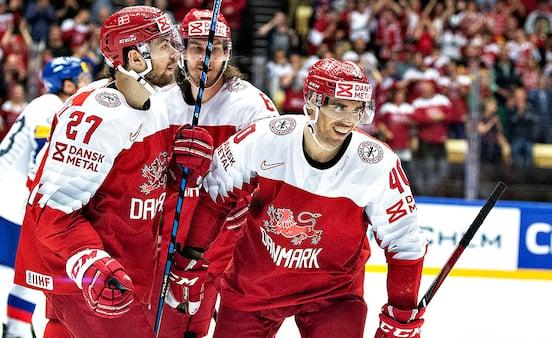 Danmark skal spille mod de bedste i ny ishockeyturnering