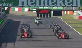 Magnussen snupper SEKS positioner på første omgang - Leclerc i problemer