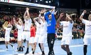 Danmark fighter sig til VM-sejr over Egypten