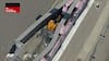 Vanvittig ulykke! Bil i flammer og rødt flag i F2 - begge kørere er uskadt