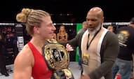 Suveræn MMA-stjerne vinder en million dollars - men hun går mere op i noget helt andet