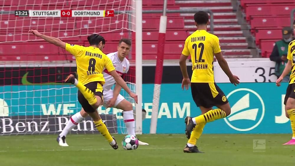Ung tysker sikrer Delaney og Dortmund tre vigtige point i 3-2 drama - se alle målene her