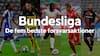Vild top fem! Her får du Bundesligaens bedste forsvarskrigere i sæsonen