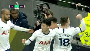 2-1 til Tottenham: Lynhurtige Son kommer først på løs bold - se målet her