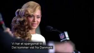 Retro: Tommy jagter det PERFEKTE spørgsmål til Beyonce - se hendes reaktion her