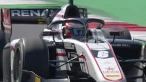 Lovende takter i Bahrain: Lundgaard hurtigst i Formel 2-testen