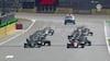 Stærk Leclerc-aktion: Ferrari-køreren snupper føringen ved genstarten