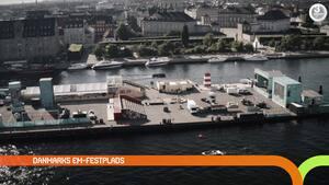 Danmarks EM-festplads: Sådan blev 'Football Village' på Ofelia Plads til