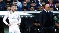 Zidane har fået nok af Bale: End ikke med fire indskiftninger var han kommet på banen!