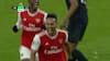 Stående Aubameyang header Arsenal foran 24 sekunder efter pausen - se det her