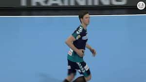 'Han fejler ikke i dag' - Se Hans Lindbergs fem suveræne kasser fra EHF Cup-semifinalen