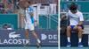 Argentiner bryder Djokovic med fantastiske slag - så bliver superstjernen sur