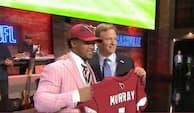 Oklahoma-quarterback skal føre Cardinals til succes - her afslører de førstevalget i årets NFL-draft