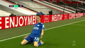 Drømmestart for Leicester: Her flugter han den i krogen