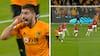 Kanonkugle fra Neves og brændt Pogba-straffe: Wolves og United deler i porten - se højdepunkterne her