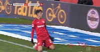 Supertalentet på tavlen: Leverkusen ydmyger Paderborn - se alle målene