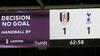 Denne episode gjorde udslaget: Annulleret mål fører til regelændring om hånd på bolden