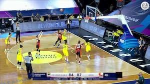 Ekaterinburg slår Fenerbahce i tæt EuroLeague-semifinale - se den intense afslutning