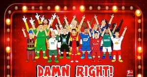 Galt eller genialt? Bundesligaen kommer med deres Backstreet Boys-version i vild video