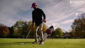 Adem Wahbi vil på European Tour trods medfødt handicap: Golf får mig til at glemme det