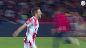 Ekstase i Beograd - Sådan ser det ud, når Røde Stjerne skal spille Champions League
