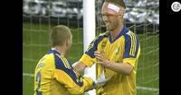 Dengang Morten Wieghorst scorede fire i Brøndbys 7-1-afsked med Mogens Krogh