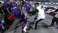 Ny ballade i NASCAR: Stjernerne ryger i voldsomt slagsmål